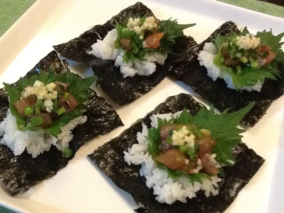 アジのタタキレシピ